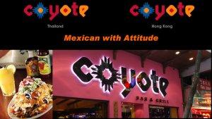 Screenshot http://www.coyotebarandgrill.com/