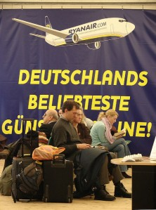 Ryanair in Lübeck (Photo: Peter Jebsen/Alll rights reserved)