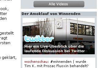 Stern.de-Screenshot (12.3.2009, 23 Uhr)