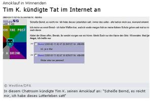 Stern.de-Screenshot vom 13.3.2009, 1 Uhr