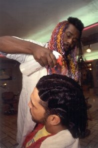 George Clinton doing the finger waves