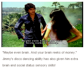 "Subtitle of the movie ""Disco Dancer"" (1982)"