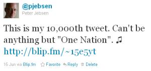 @pjebsen's 10,000th Tweet