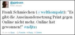 Frank Schmiechen (@weltkompakt) beim #NDJT11