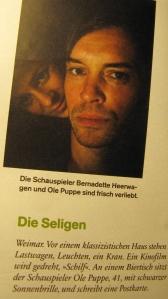 Bernadette Heerwagen und Ole Puppe