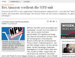 Screenshot von Handelsblatt de (16.02.2013)