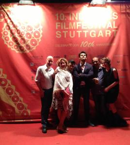 Red Carpet Treatment at the 10th Indian Film Festival in Stuttgart/Germany