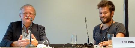 Hans Leyendecker & Tilo Jung @ #nr14 (Jahreskonferenz des Netzwerks Recherche 2014)