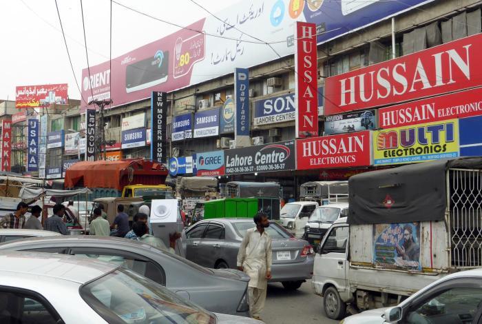 """Das """"Elektronik-Viertel"""" von Lahore"""