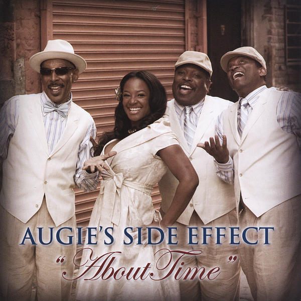 "The 2010 Augie' s Side Effect album ""About Time"" is available at emusic."