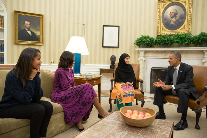 Malala Yousafzai Oval Office