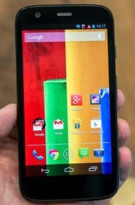 Motorola Moto G (Photo: Juangox2323 / Licensed under Creative Commons Attribution-Share Alike 3.0)