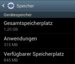 Speicher Samsung Ace 2