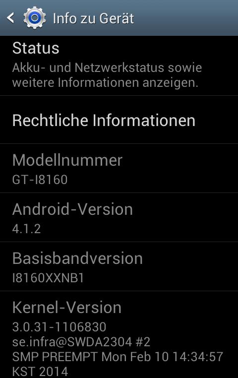 Warnung vor dem Samsung Galaxy Ace 2 (GT-I8160): das unbrauchbare Smartphone (2/4)