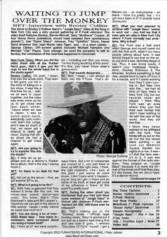 The Complete New Funk Times P.Funk History Double Issue 4/5 from 1990 (3/6)