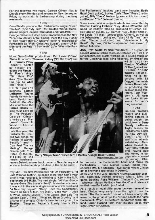 The Complete New Funk Times P.Funk History Double Issue 4/5 from 1990 (5/6)