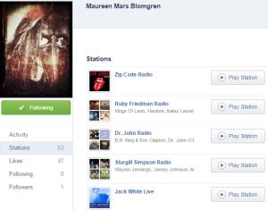 Radiosender einer texanischen Facebook-Bekannten