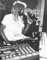 New Funk Times 1 (1989): George Clinton at the Funky Farm (Photo: Peter Jebsen / All rights reserved)