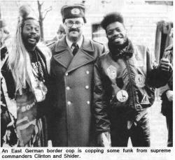 New Funk Times 3 (1990): George Clinton and Garry Shider in East Berlin (Photo: Peter Jebsen / All rights reserved)
