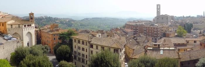 Perugia-Panorama (Foto: Peter Jebsen)