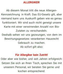Wielandshöhe: Hausverbot für Allergiker
