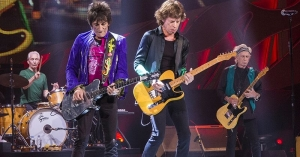 The Rolling Stones at Marcus Amphitheater in Milwaukee, USA