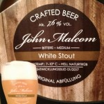 John Malcom: White Stout