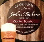 John Malcom: Golden Bourbon