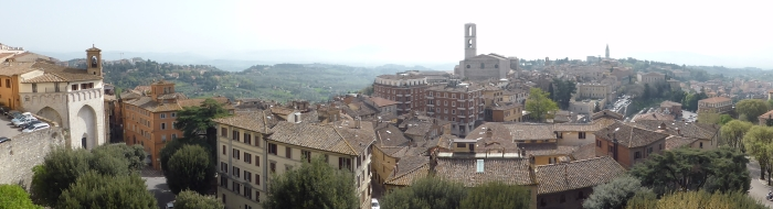 Perugia-Panorama (Foto: Peter Jebsen/All rights reserved)