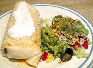 Burrito mit Pollo Chipotle (Foto: Peter Jebsen/All rights reserved)