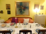 """Monika Fuchs' """"Restaurant im Wohnzimmer"""" (Foto: Peter Jebsen/All rights reserved)"""