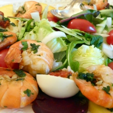 Scampi-Salat (Foto: Peter Jebsen/All rights reserved)
