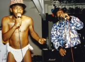 "P.Funk finds (from the late '80s or early '90s): Garry Shider & Robert ""Peanut"" Johnson (All rights reserved)"