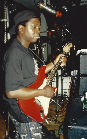 P.Funk finds (from the late '80s or early '90s): Blackbyrd McKnight (All rights reserved)