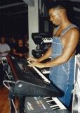 P.Funk finds (from the late '80s or early '90s): Amp Fiddler (All rights reserved)