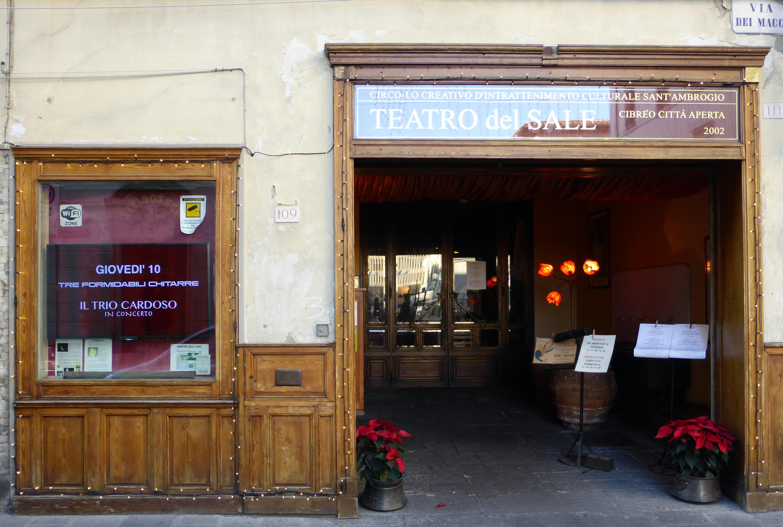 Teatro Del Sale In Florenz Weltweit Mein Lieblingsrestaurant Punkt